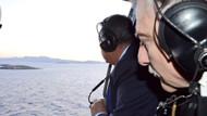 Yunanistan'dan Kardak hamlesi; Savunma Bakanı kayalıklara çelenk attı!