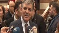 Abdullah Gül'den akademisyenlere destek