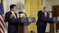 Japon liderle görüşen Trump'tan şok hareket!