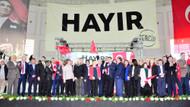 CHP referandum kampanyasına start verdi