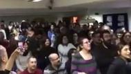 HDP Grup toplantısında CHP'lilerin söylediği İzmir Marşı...