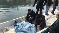 Polis, cansız bedeni bulunan balıkçı babasının elini tutup ağladı