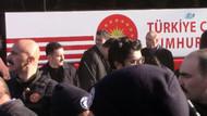Cumhurbaşkanı Erdoğan'ın konvoyunda kaza! Başından ayrılmadı