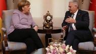Erdoğan tepki göstermişti; Merkel, Yıldırım ile görüşmesinde de İslamcı terör dedi