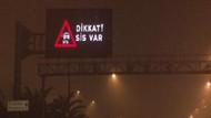 İstanbul'u sabaha karşı sis kapladı