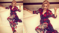 Katy Perry'den gül ve tül detayı
