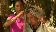 Survivor'da Elif Mor'un saçlarını böcekler bastı