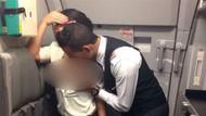 Uçakta şok seks olayı: Kabin görevlileri arka tarafa geçip...