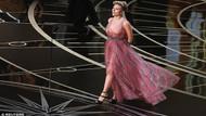 Scarlett Johansson, Oscar'ın en çok konuşulan kadını oldu