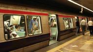 Taraftarlar meşale yaktı metro kapatıldı