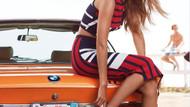 Gigi Hadid'in Çizgili Kıyafet Trendi