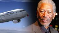THY, üvey torunu ile yaşadığı ilişkiyle tartışılan Morgan Freeman'ı nasıl reklam yüzü yaptı?