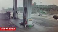 Helikopter kazası kameralara böyle yansıdı!