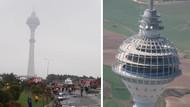 İşte helikopter kazasıyla gündeme gelen o kulenin hikayesi