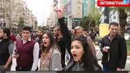 İzmir'de Akp Protestosu