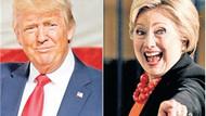 Trump ve Hillary'nin seçim yarışı Dizi oluyor
