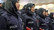 Devletten kadın polislere yılda 2 türban
