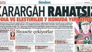Karargah Rahatsız manşeti terör kapsamına alındı