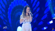 O Ses İsrail birincisi Sapir Saban final performansı