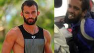 Survivor Turabi uçakta taşkınlık yapan yolcuyu battaniyeyle paketledi