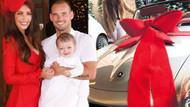 Sneijder'dan eşine milyonluk doğum günü hediyesi