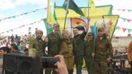 Son dakika... Rus askerleri, YPG bayrakları ile poz verdi