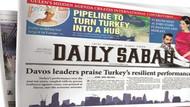 Avrupa Parlamentosu'ndan Daily Sabah gazetesine yasak