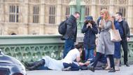 Londra saldırısı sonrası köprüden geçen türbanlı kadın tartışılıyor