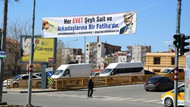 AK Parti'den, Diyarbakır'da Şeyh Said'li pankart: Her Evet bir Fatiha