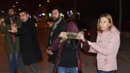 Yol kenarında parayla fuhuş yapan kadınlara baskın