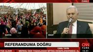 Uçak sis nedeniyle inemedi, Başbakan Bartınlılara tele mitingle seslendi