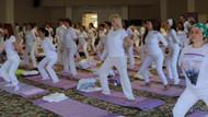Şile'deki Yoga festivalinde barış mesajları