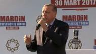 Erdoğan'dan Mardin'de önemli açıklamalar