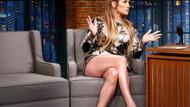 Jennifer Lopez bacak şovuyla programa damga vurdu