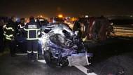 Alkollü araç kullanan polis kaza yaptı