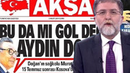 Ahmet Hakan'dan Akşam'a: Arsız, yalancı!
