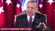 Erdoğan: Evet'i 55 altı gösteren anketler de var, 55-60 arası gösterende
