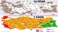 AK Parti hangi illeri kaybetti? İşte Türkiye'nin yeni oy haritası