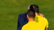 Hakemi dudağından öpen başkan futboldan men edildi!