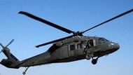 Tunceli'de helikopterle son temas Çambulak kırsalında