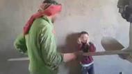 Suriyeli gençler küçük çocuğa böyle işkence yaptı