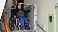 Cumhurbaşkanı Erdoğan'dan engelli yüzme rekortmeni Özge'ye asansör desteği