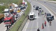 İstanbul'da üniversite servisinde patlama: Yaralılar var