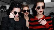 Kendall Jenner ve Hadid kardeşlerle yayılan akım