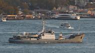 Son dakika haberi! Rus savaş gemisi canlı hayvan gemisiyle çarpıştı.. Kilyos'ta iki gemi de battı