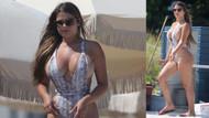 Rusya'nın Kim Kardashian'ı Anastasia Kvitko'dan plaj kareleri