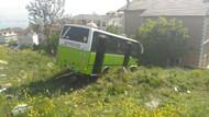 Özel halk otobüsünün freni patladı!.. Çok sayıda yaralı var