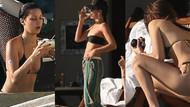 Bella Hadid bikinisiyle plajları kavurdu