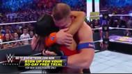WWE tarihinin en romantik anı!