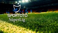 Spor Toto Süper Lig'de son durum! Maç sonuçları